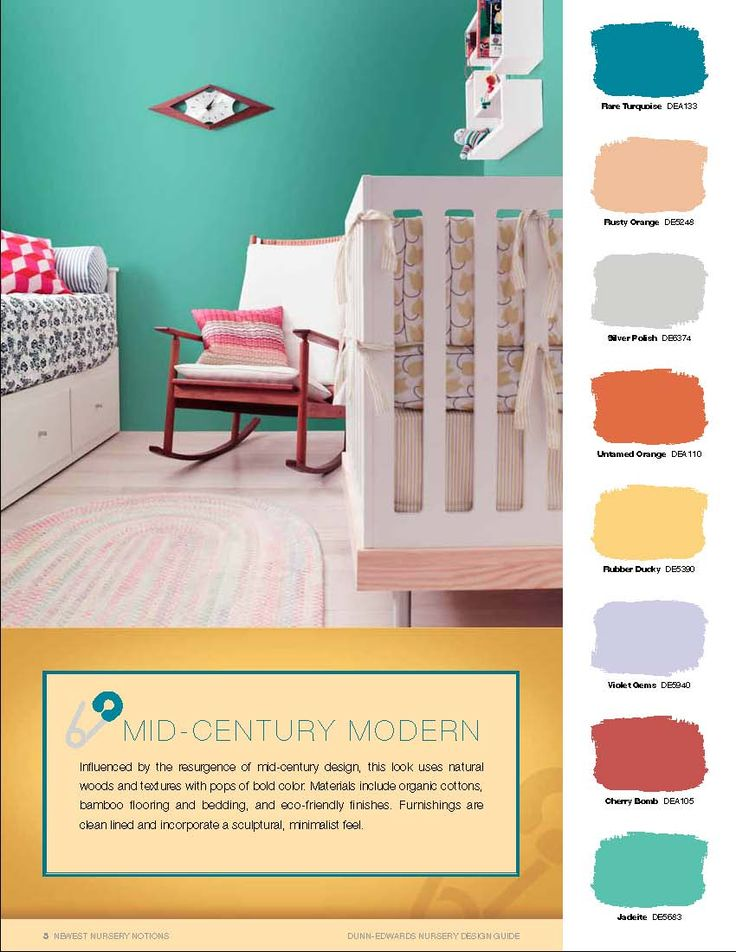 Mid Century Modern Interior Paint Colors Mad For Nursery I Pictures