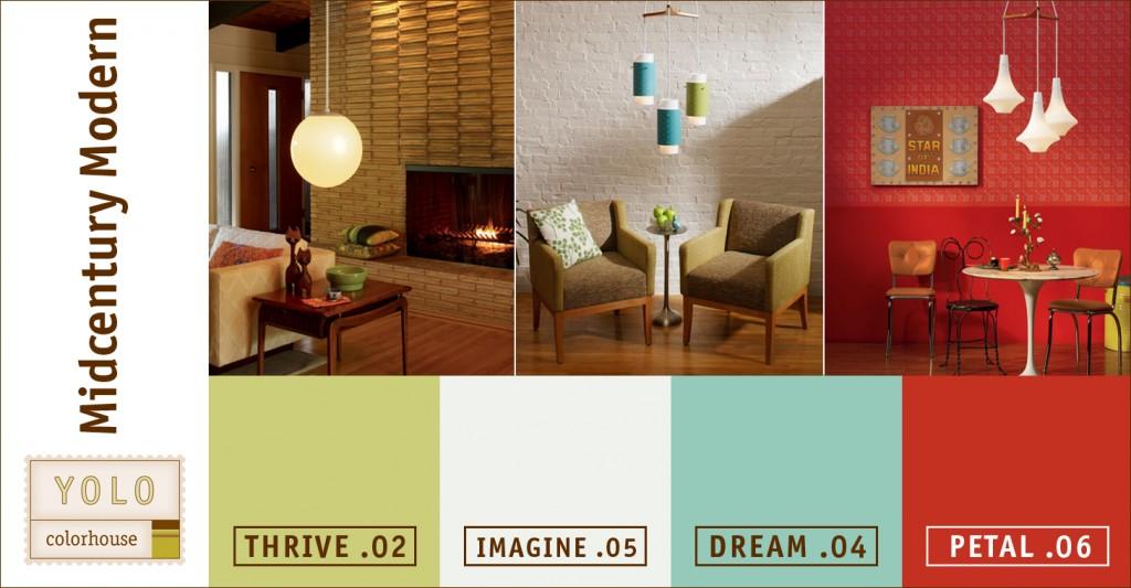 Mid Century Modern Paint Colors Interior Awg8ct3yo